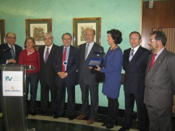 Entrega PLACA al Excmo. Ayuntamiento de Valladolid