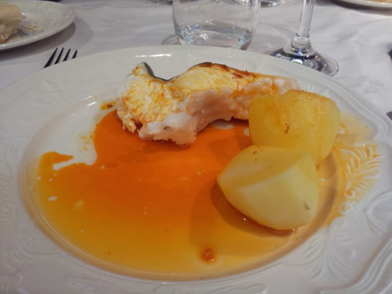 Comida Restaurante SANTI